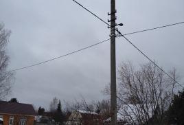 Замена проводов в заездах